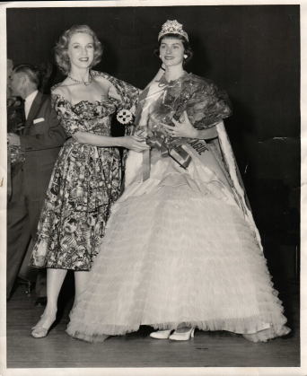 Barbara Britton Crowns Christine