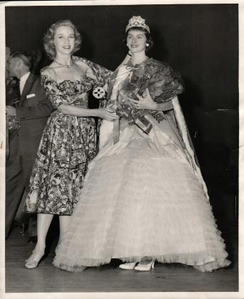 Barbara Britton Crowns Christine