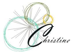 images - Christine with rings of color