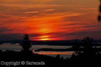 Finland Sunset - Sartenada