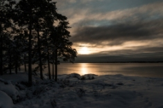 Sweden Winter Sunset - Stefan Viklund