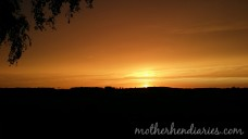 Sunset -motherhendiaries.com