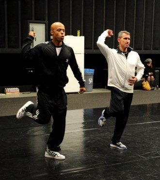 Adam Shankman at rehearsals for the 82nd Academy Awards. articles.latimes.com