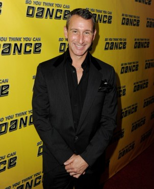 Adam Shankman choreographer at viewing party arrivals. zimbio.com