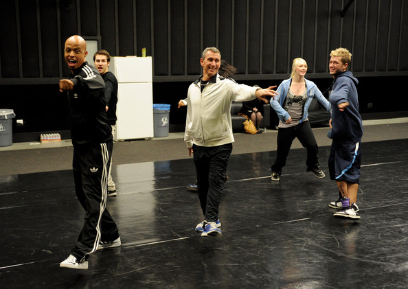 Choreographer Jamal Sims and producer Adam Shankman dance/choreographers zimbio.com