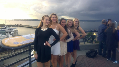 Jeff and Friends Sophomore Homecoming HS 2014