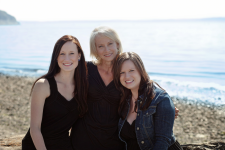 Laurie, Kim and Brittany