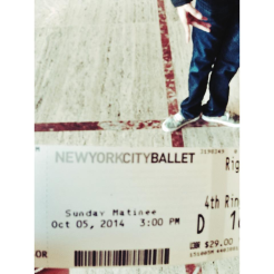 NYC Ballet Matinee