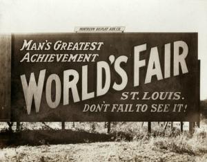 ST LOUIS WORLD'S FAIR 1904