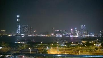 Hong Kong Kowloon Skyline