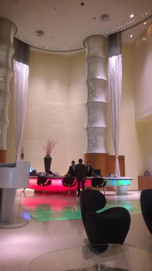 Le Meridien Hotel Lobby