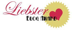 LIEBSTER BLOG AWARD LOGO
