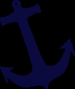 Navy Anchor