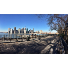 Brooklyn Bridge Park Looking at Manhattan