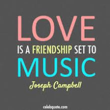 images - Love is a freindship set to music