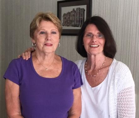 Marlene and Christine 2016