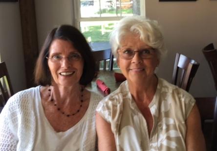 Christine and Joan