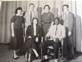Junior Class Officers, Sally, Vice-President 1957