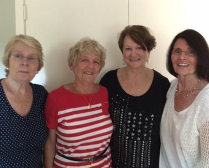 Gay, Maxine, Karlene, and Christine 2016